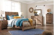Blaneville - Brown 5 Piece Bedroom Set