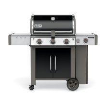 Genesis II LX E-340 Gas Grill Black Natural Gas