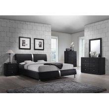 Enzo Black Bedroom Set