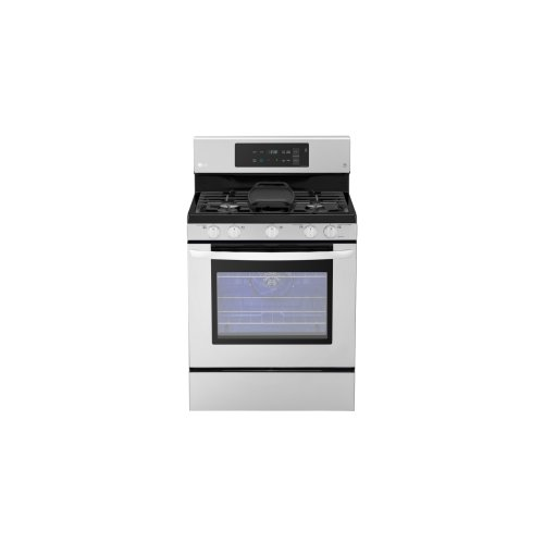 5.4 Cu. Ft. Capacity Gas Single Oven Range With Evenjet Fan Convection and Easyclean®