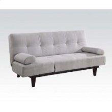 Silver Adjustable Sofa