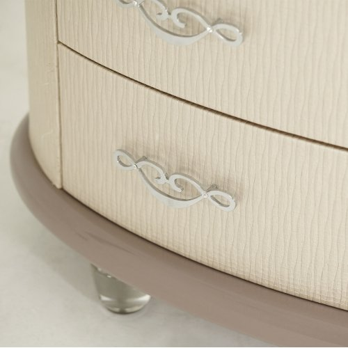 Upholstered 2 Door Chest
