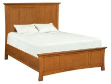LSO Prairie City Queen Mantel Bed