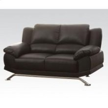 Black Bonded L. Match Loveseat