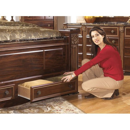 King Footboard Storage Box