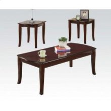 3pc Pk Cherry C/e Tables Set