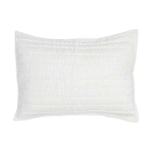 Heirloom Quilt Ivory Standard Sham 20x26