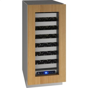 "U-Line5 Class 15"" Wine Captain(r) Model With Integrated Frame Finish and Field Reversible Door Swing (115 Volts / 60 Hz)"