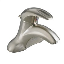 Reliant 3 1-Handle 4 Inch Centerset Bathroom Faucet - 0.5 GPM - Brushed Nickel
