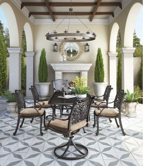 Rose View - Brown 4 Piece Patio Set