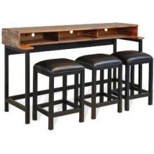 Havana Console Table (Wood Base)