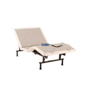 ShipShape Adjustable Bed Base with Ultra-Quiet Motor and Wired Remote, Twin XL