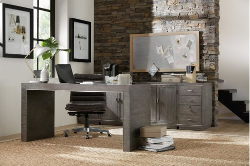 Home Office House Blend 60in Writing Desk