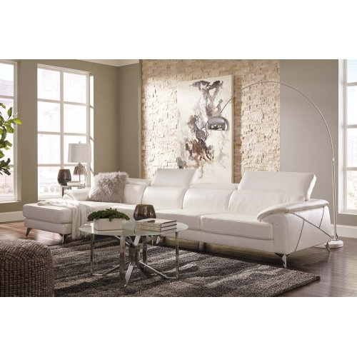 Tindell III Sectional White Left