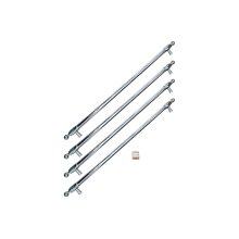 Handle Kit for 36 French Door refrigerator Stainless Steel