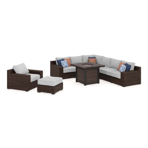 Alta Grande - Beige/Brown 2 Piece Patio Set