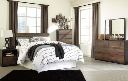 Windlore - Dark Brown 2 Piece Bedroom Set