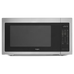 2.2 cu. ft. Countertop Microwave with 1,200-Watt Cooking Power - HERITAGE STAINLESS STEEL