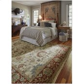 Yazzie Ivory Red Hand Knotted Rugs