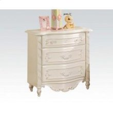 Pearl White Night Stand @n