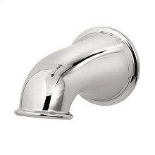 Polished Chrome Traditional Tub Spout without Diverter