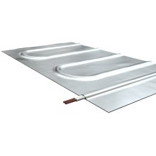 Warmup Foil Heater for under laminate, carpet, engineered wood, 120V, 120W, 1 amps, 1.6'W x 6.1'L, Covers 10 Sq Ft of heated area