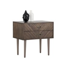 Greyson Nightstand - Brown