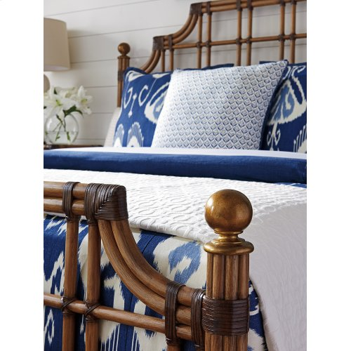 St. Kitts Rattan Bed King