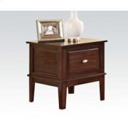 Walnut End Table Product Image