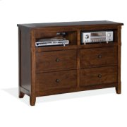 Sante Fe Media Chest Product Image