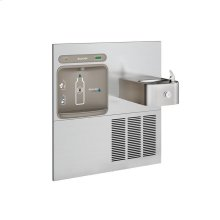 Elkay EZH2O Retrofit Bottle Filling Station with Soft Sides Fountain, Filtered 8 GPH Stainless