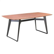 Fletcher Dining Table Walnut & Black