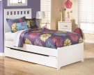 Lulu - White 5 Piece Bed Set (Twin) Product Image