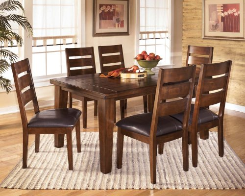 Larchmont - Burnished Dark Brown Set Of 2 Dining Room Chairs