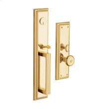Lifetime Polished Brass Tremont Entrance Trim