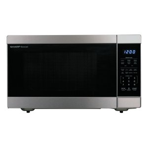 Sharp1.6 cu. ft. 1100W Stainless Steel Countertop Microwave Oven