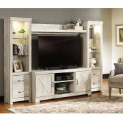 Bellaby - Whitewash 4 Piece Entertainment Set Product Image