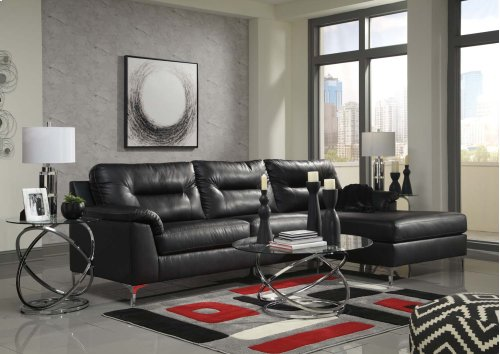 Tensas - Black 2 Piece Sectional