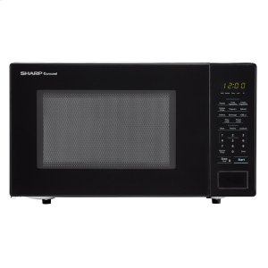 1.1 cu. ft. 1000W Sharp Countertop Black Microwave -