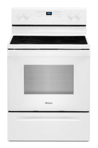 5.3 cu. ft. Whirlpool™ electric range with Frozen Bake technology
