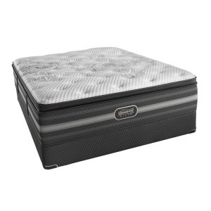 SimmonsBeautyrest - Black - Katarina - Plush - Pillow Top - Cal King
