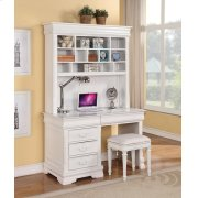 WHITE COMPUTER DESK Product Image
