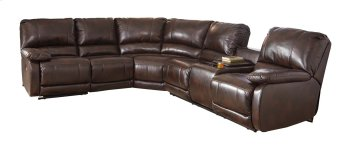 Hallettsville - Saddle 5 Piece Sectional Product Image
