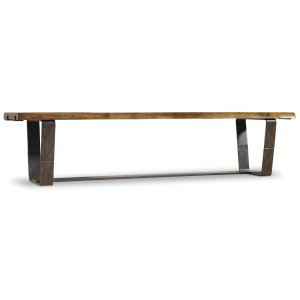 Hooker FurnitureDining Room Live Edge Bench