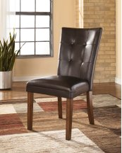 Lacey - Medium Brown Set Of 2 Dining Room Chairs
