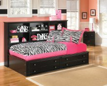 Jaidyn - Black 3 Piece Bed Set (Twin)