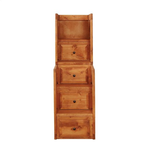 Wrangle Hill Amber Wash Stairway Chest