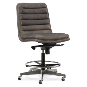 Hooker FurnitureHome Office Wyatt Executive Swivel Tilt Chair (Tall) w/ Metal Base