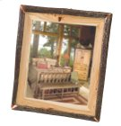 "Hickory Log Mirror - 32""W x 36""H - Traditional Hickory Product Image"