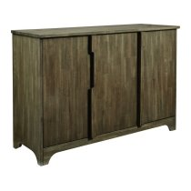 Triple Buffet in Pewter Product Image